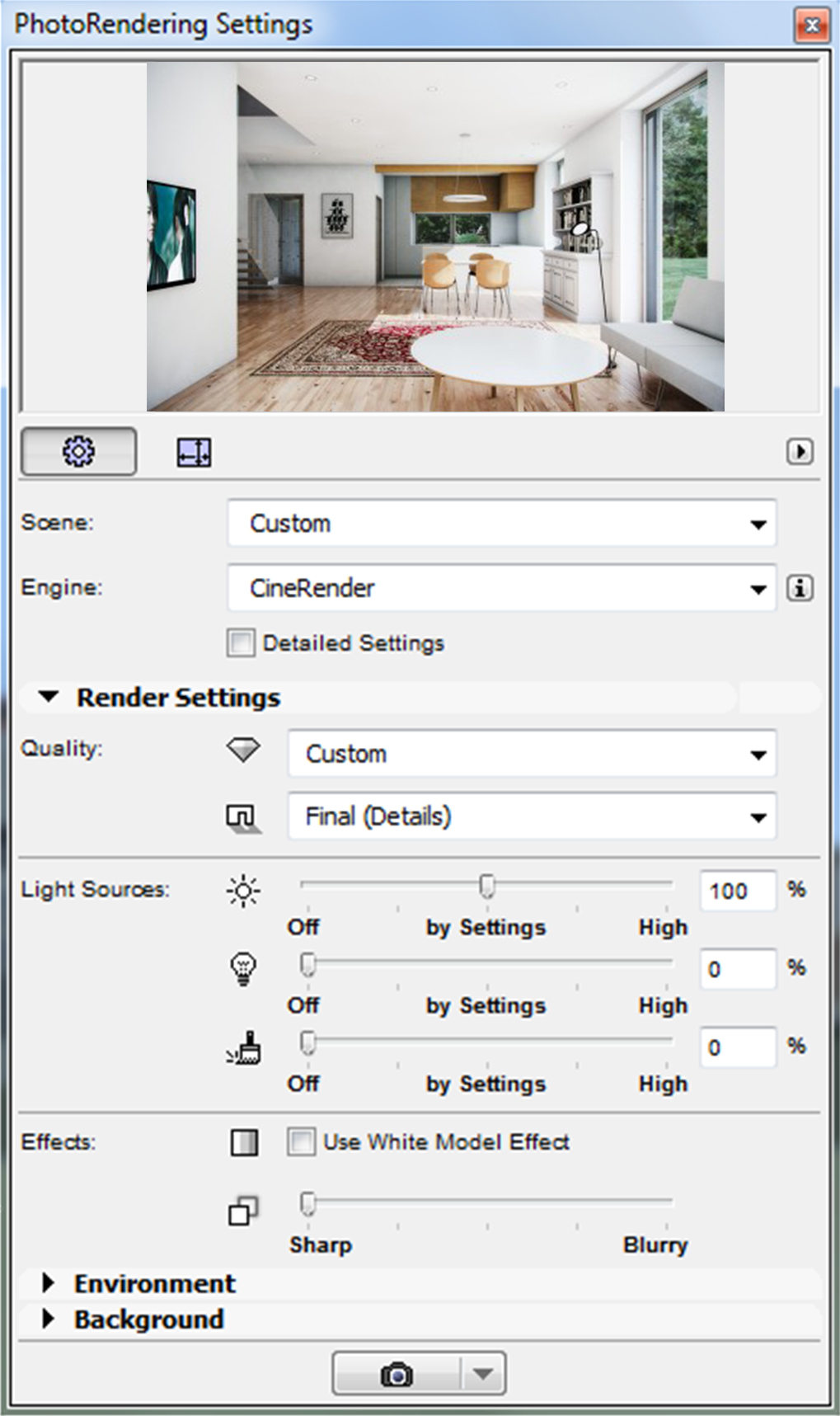 ARCHICAD Tutorial How To Render An Interior Scene With