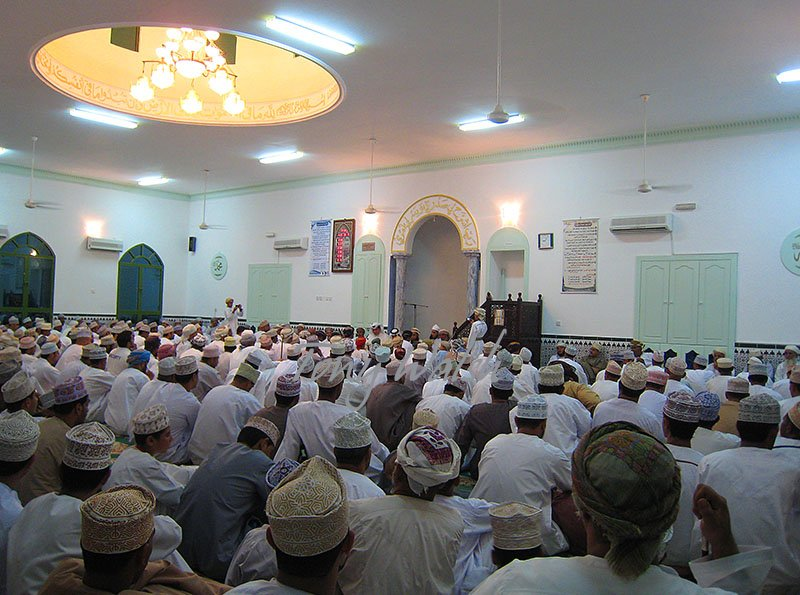 Mosque ceremony for marraige