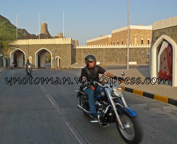 Harley in Muscat