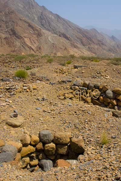 Falaj shafts and Mountains