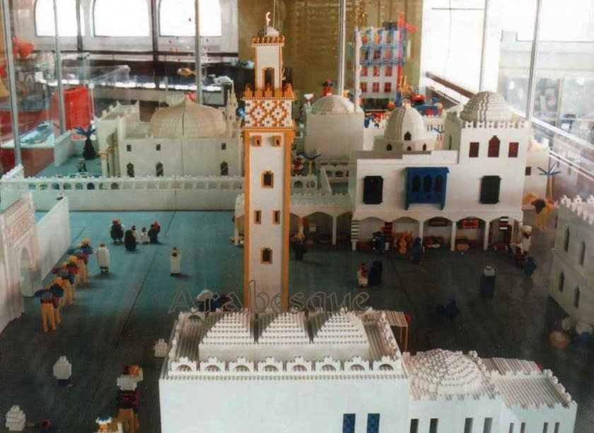 Lego 'World Show' Muscat