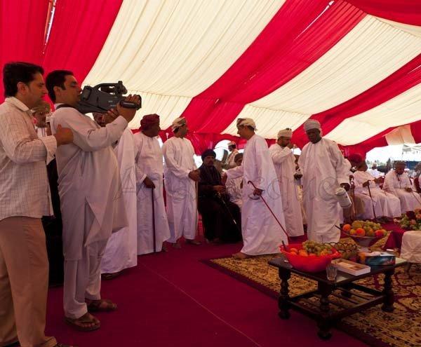 Oman Wedding Guests in Salalah