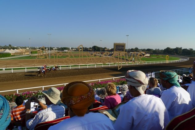 Horse Race for Queen Elizabeth in Oman