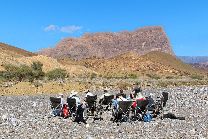 Picnic Lunch in Oman Steppes Travel Tour in Oman over Christmas