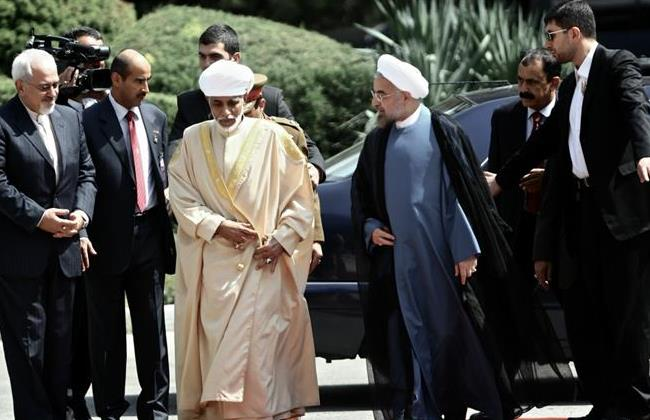 Dr. Mohammad Javad Zarif, Sultan Qaboos, President Hassan Rouhani