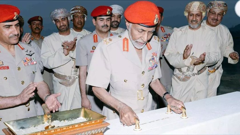 Sultan Qaboos lays foundation Stone for the 'Oman Across Ages Museum'