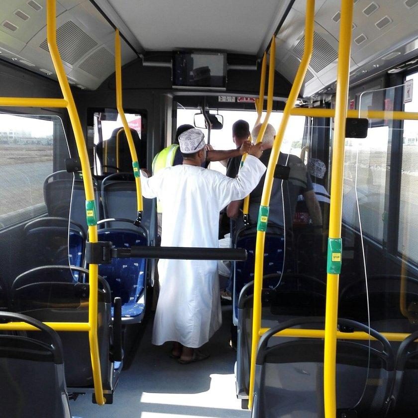 Oman's new Bus Fleet