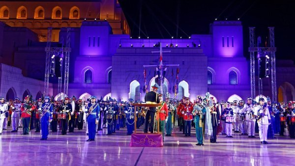 oman military bands
