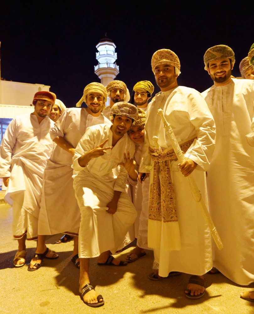 Abdulaziz Al Wahaibi Wedding celebration in Muscat