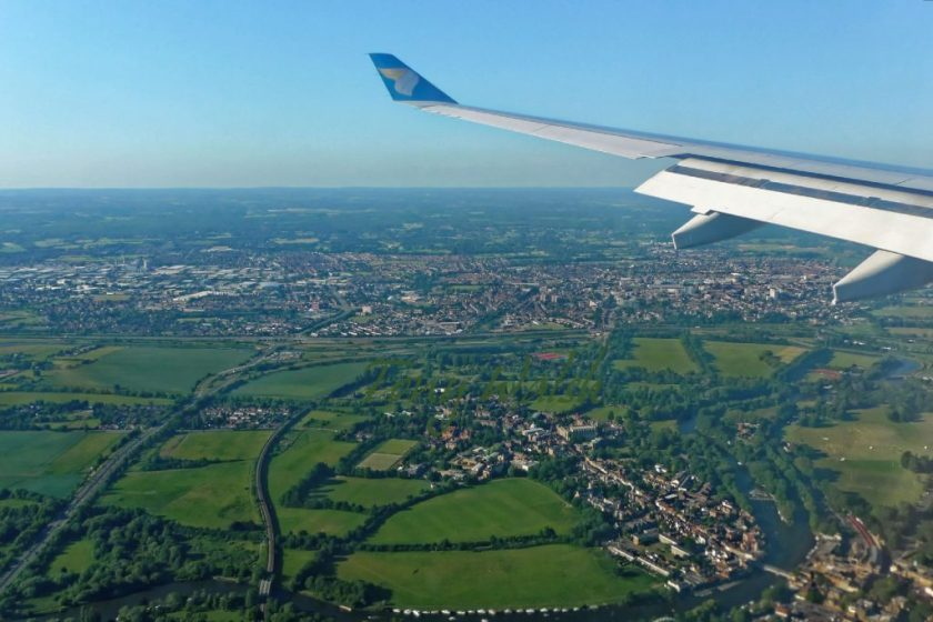 Oman Air Eton near Heathrow