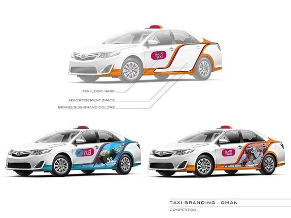 Taxi redesigned by Zawaia Oman