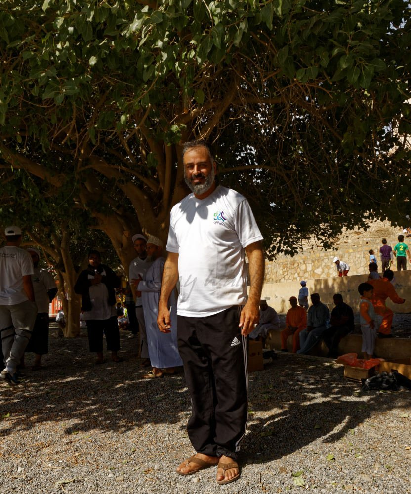Engineer Khalfan bin Saleh Al Naabi in Birkat Al Moz