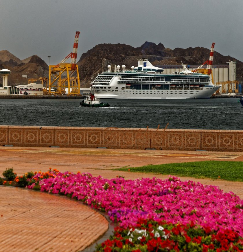 Splendour of the Seas in Mina Sultan Qaboos