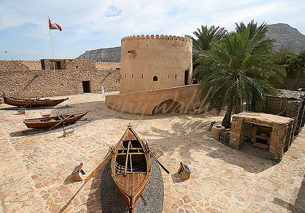 Khasab Fort Courtyard
