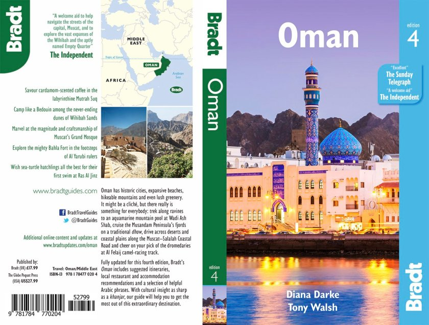 Bradt Oman guide book cover