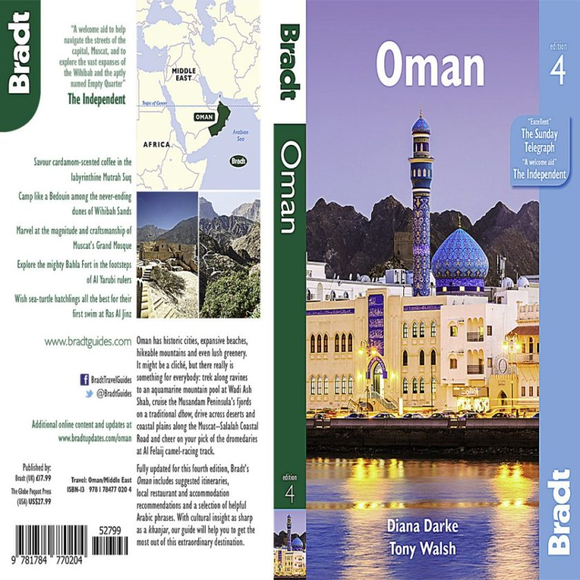 Bradt Guide to Oman 4th Edition Cover