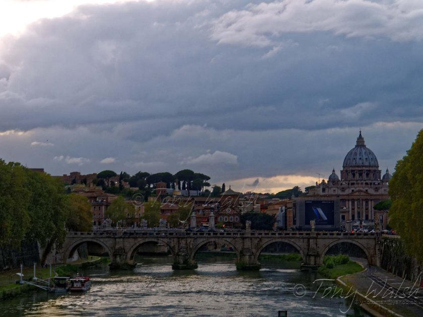 St Peters Vatican and Tiber
