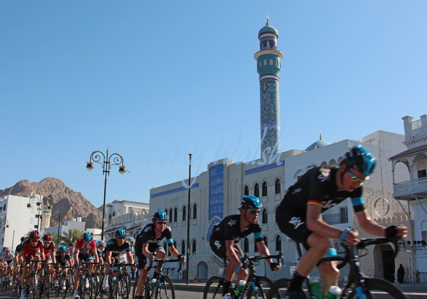 Bradley Wiggens in Oman