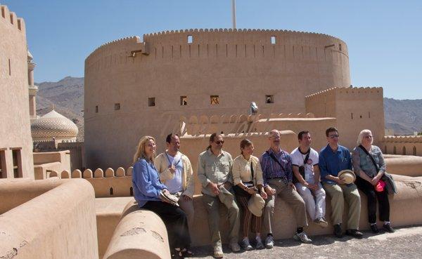 Glimmerglass performers in Nizwa Oman