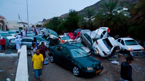 Outside Al Nahda Hospital Ruwi