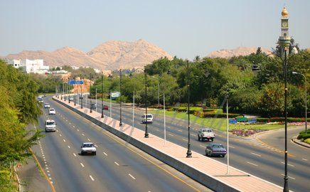 Qurm Main Road a few years ago