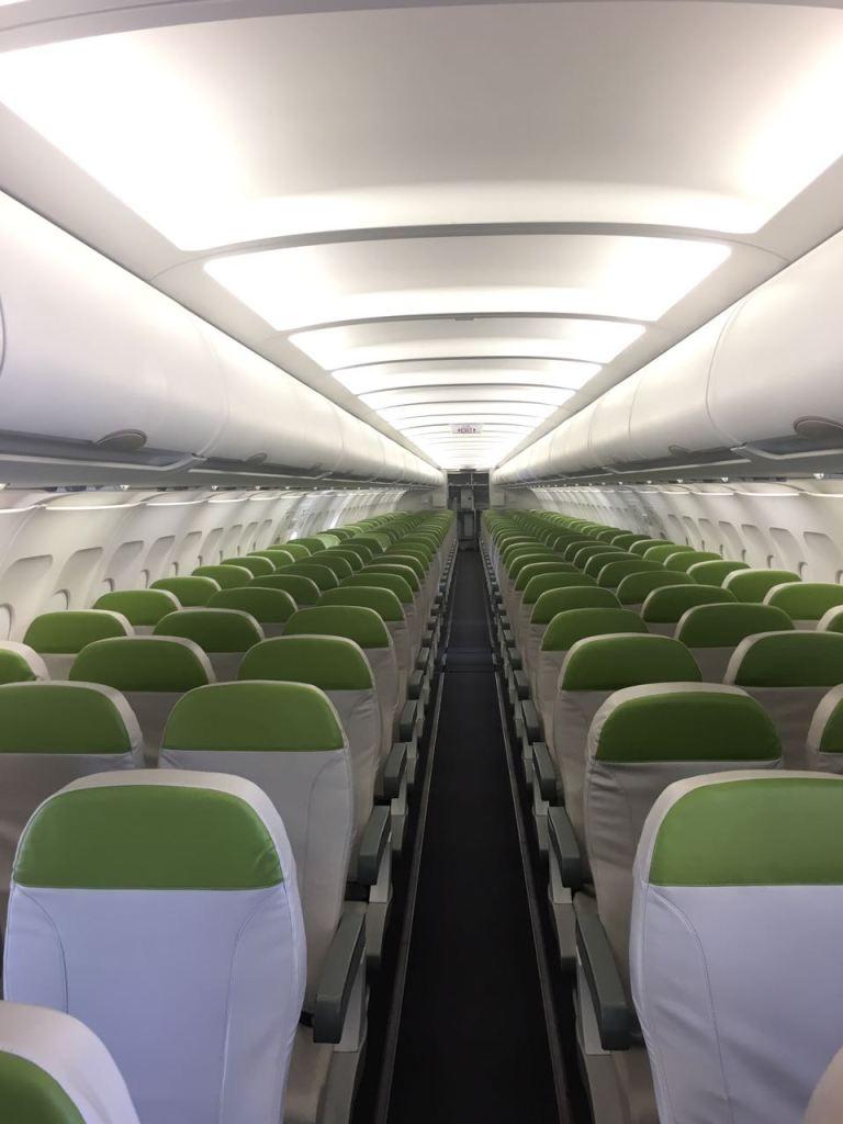 Salam Air Interior