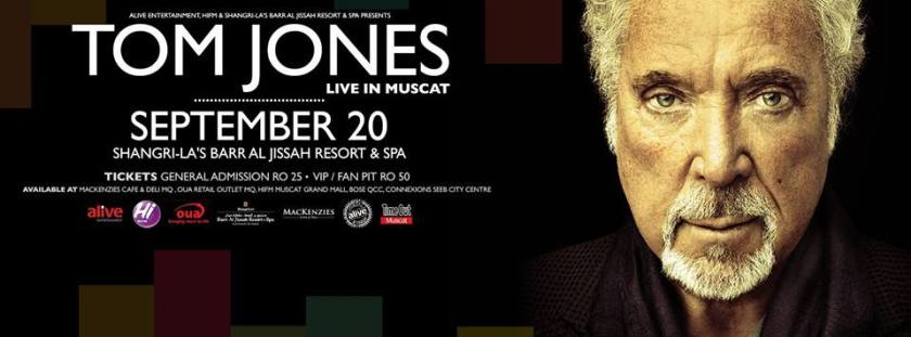 Tom Jones Oman 2013