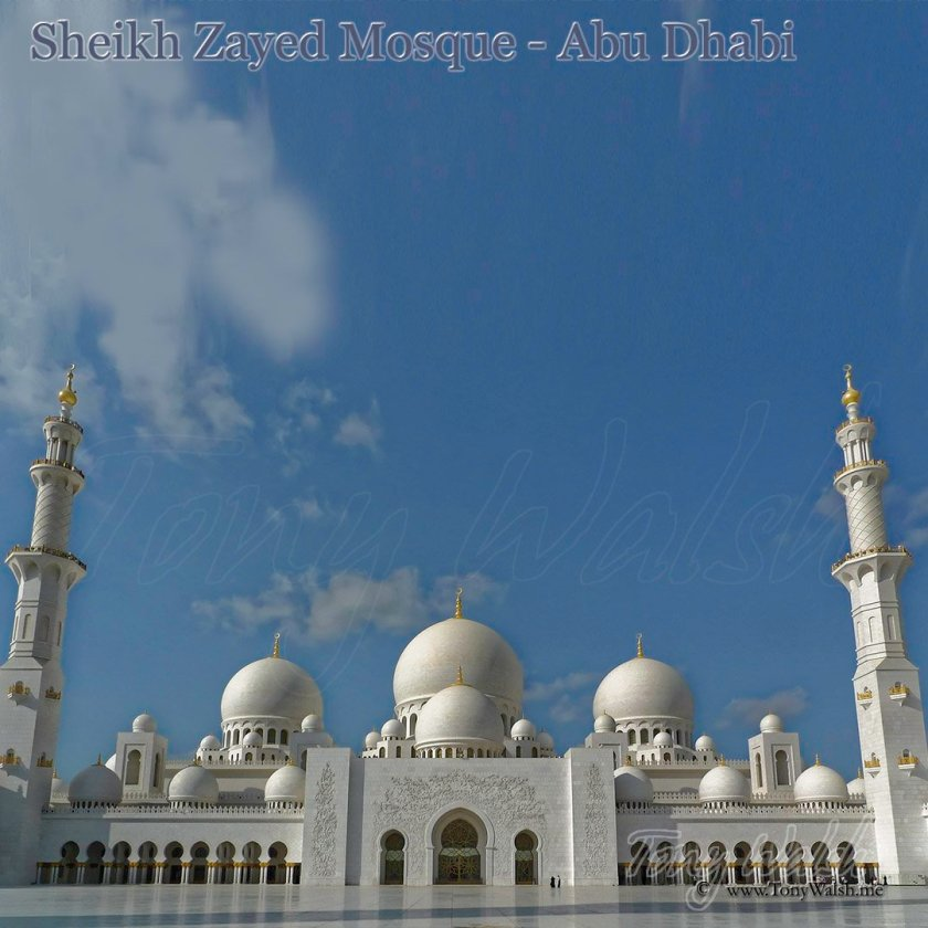 Sheikh Zayed Mosque Abu Dhabi Mosques in Oman and Arabia