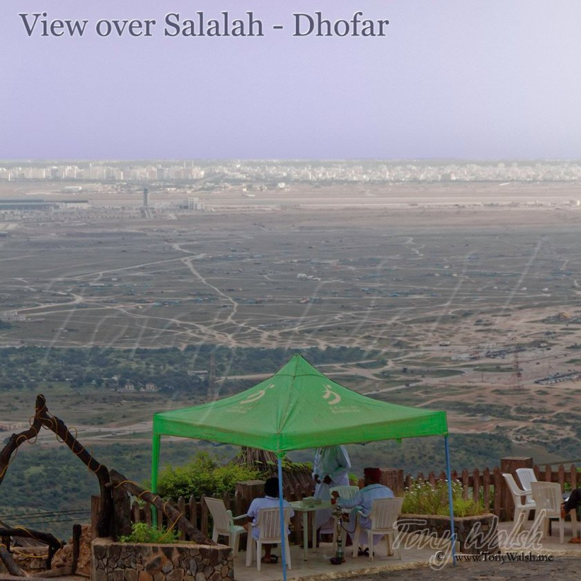 View over Salalah Dhofar