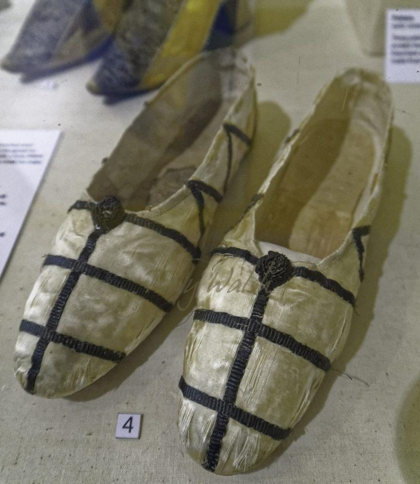 Princess Charlotte's footwear
