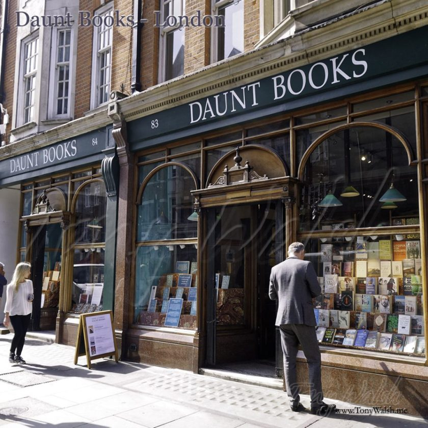 Daunt Books - Entrance London