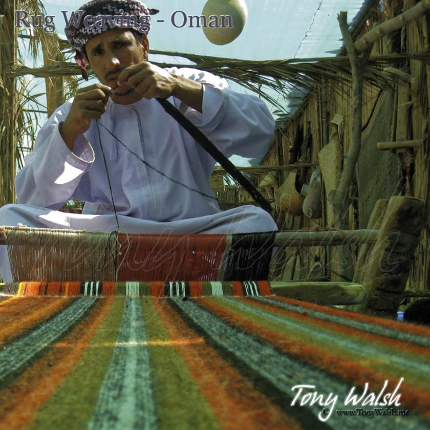 Traditional Rug Weaving Oman