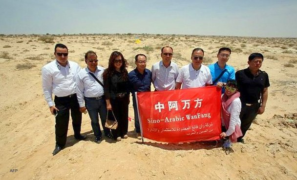 The Initial Chinese Survey Team Ad Duqm