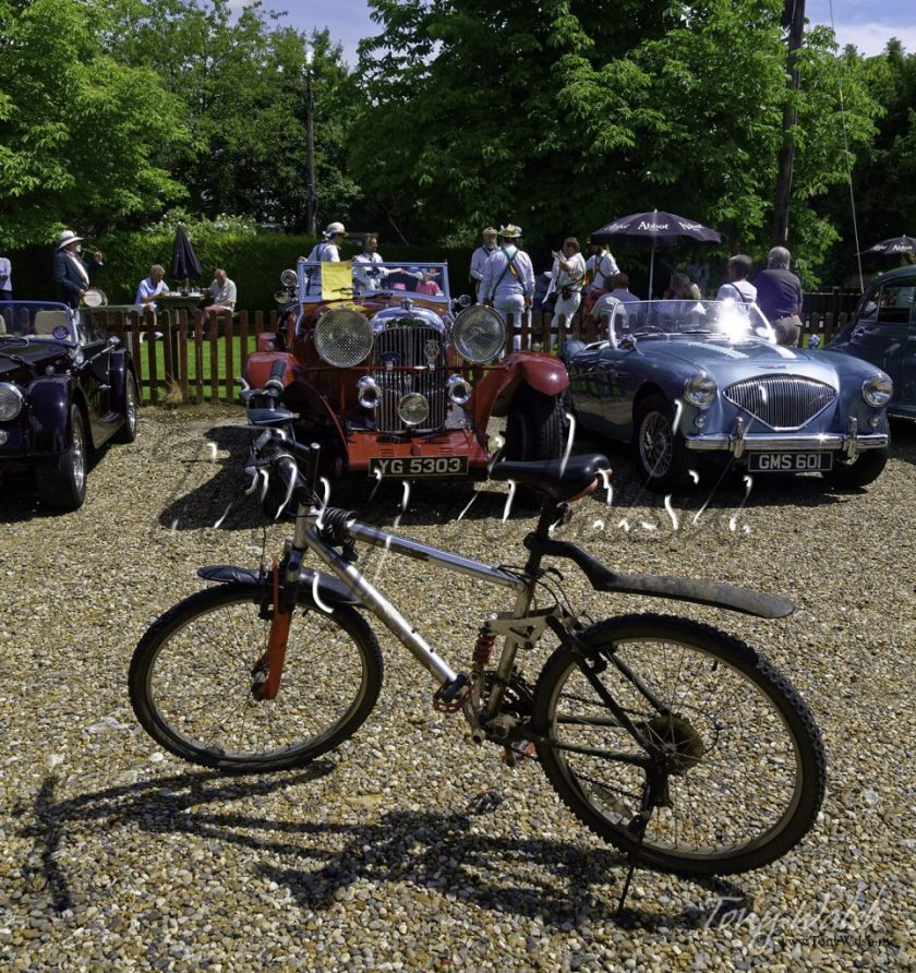 Biking through the English Summer