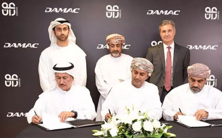 DAMAC & Oman Government organisations signing