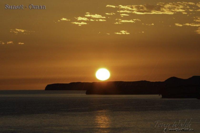 Sunset-Oman
