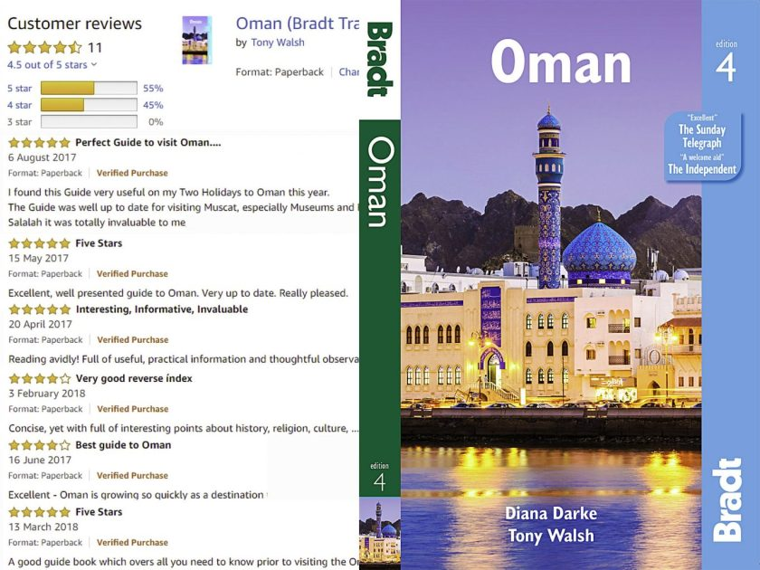 Reviews of Bradt Guide to Oman