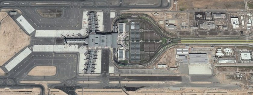 Muscat Airport new Terminal