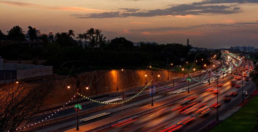 Oman Road Dusk