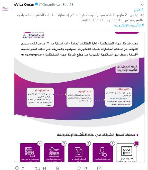 POLICE ARABIC Visa Announcement