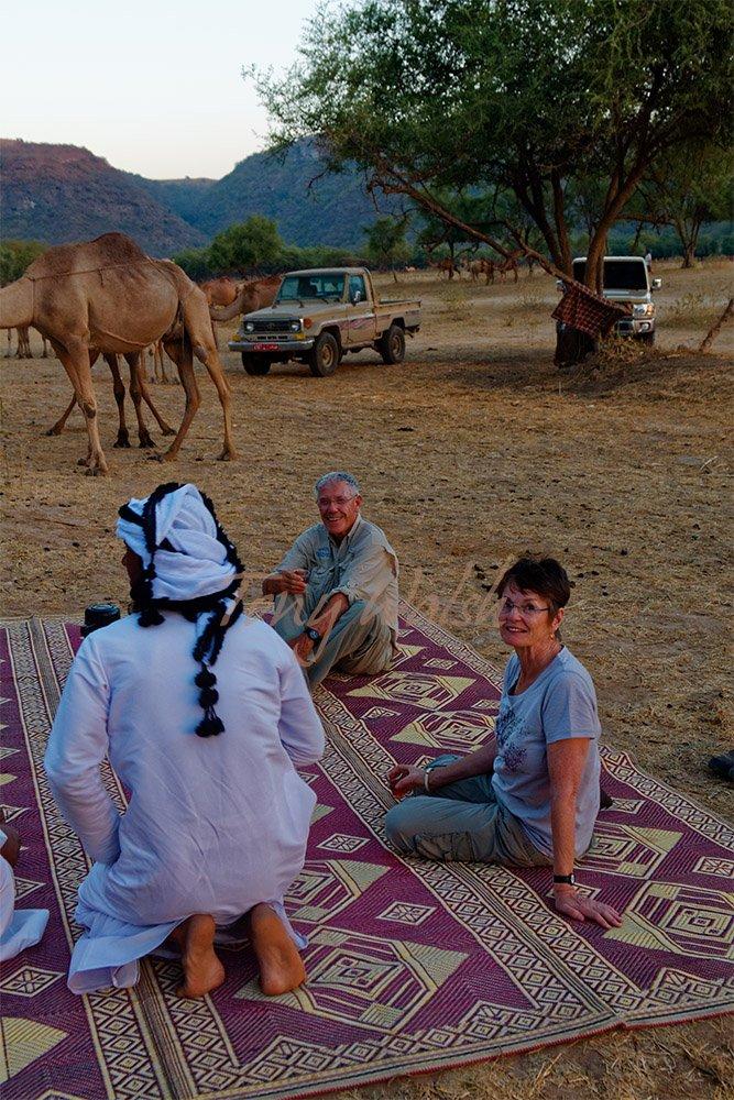 Tea stop in Dhofar