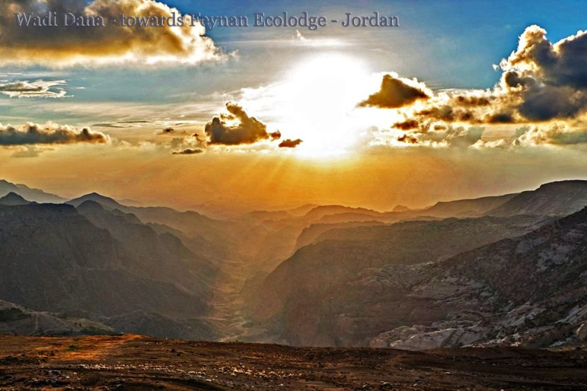 Wadi Dana - towards Feynan Ecolodge - Jordan