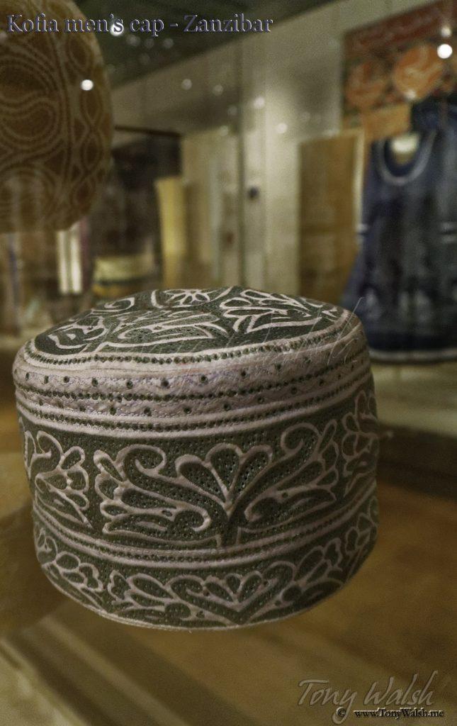 British Museum - Kofia mens cap - Zanzibari Kofia mens cap