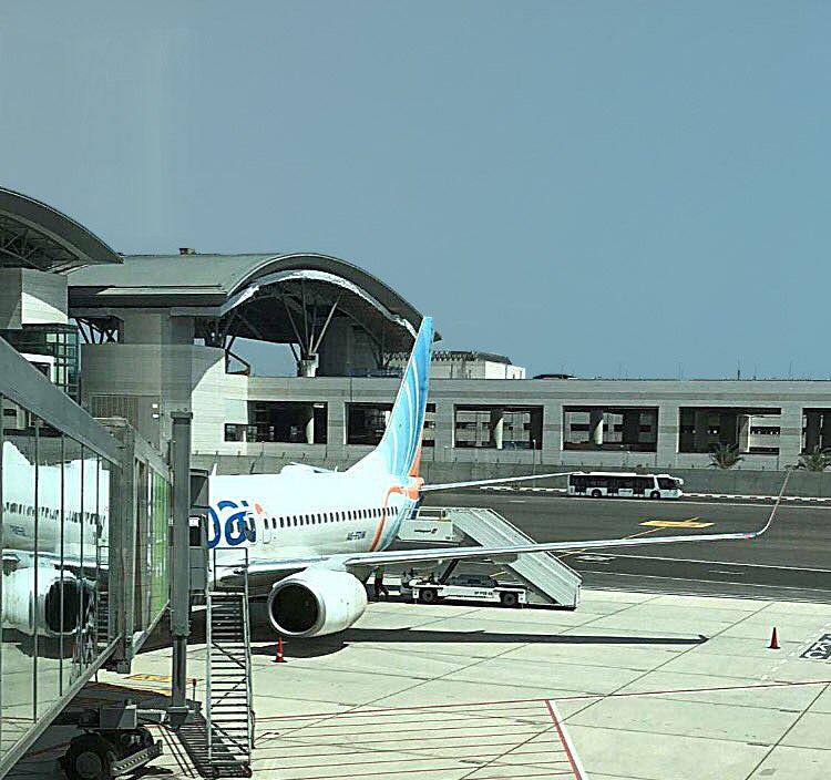 Muscat Airport new Terminal FlyDubai