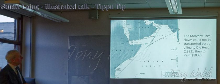 Stuart Laing - illustrated talk -Tippu Tip