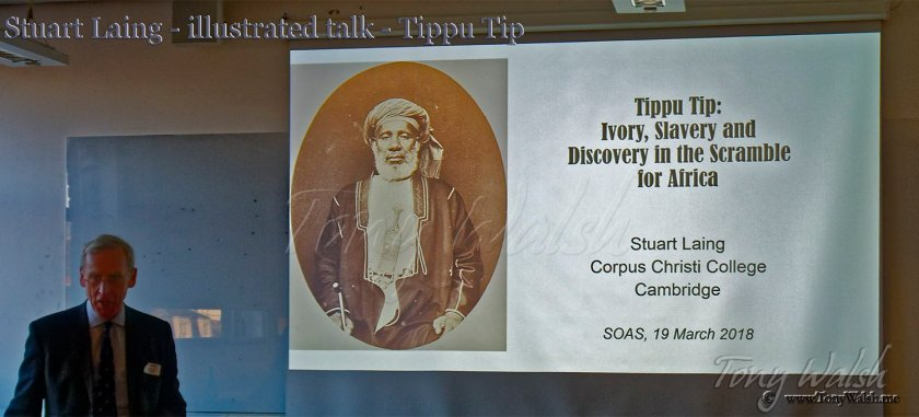Tippu Tip by Stuart Laing - illustrated talk