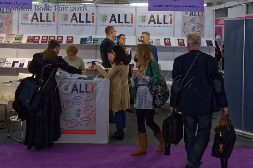 Alliance of Independent Authors – London Book Fair 2018