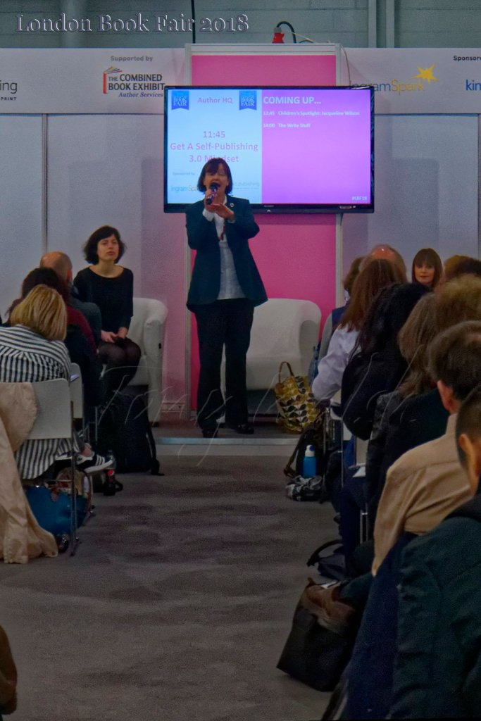 Orna Ross talks for Ingram Spark and Alliance of Independent Authors discussion – London Book Fair