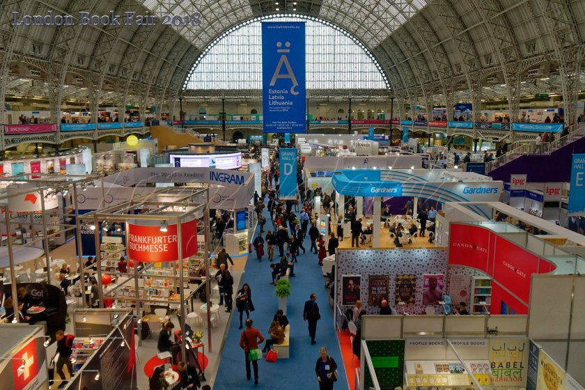 London Book Fair 2018 Olympia