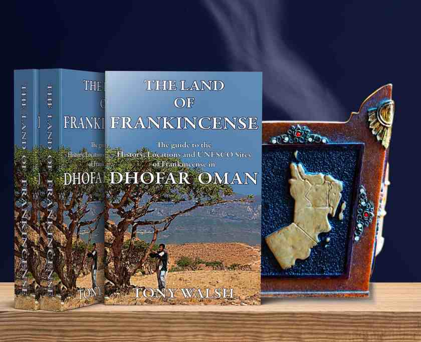 Book Cover Land of Frankincense